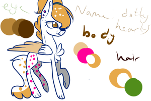 Dotty Hearts Ref by SnowflakeCrystalYT