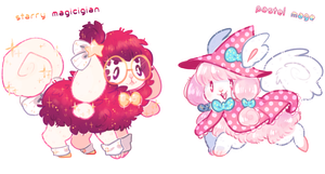 [ CLOSED ] Magical Flufferbuns Auction *AB ADDED* by blushbun