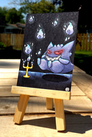 +Gengar ACEO - Pokemon+ by madhouse-arts