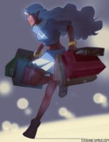 BLACK FRIDAY! Allura going shopping! by SteveAhn