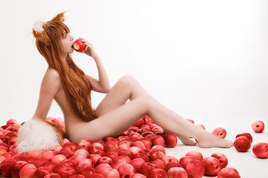 Nude Horo from Spice and Wolf by andrewhitc