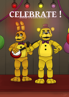 FNAF - Celebrate and remember by Niutellat