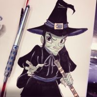 Wicked Witch by ChrissieZullo
