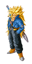 Trunks ssj3 by Toranks