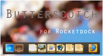 Butterscotch for Rocketdock by Cerbii