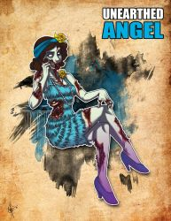 Unearthed Angel by jeftoon01