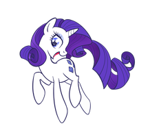 Rarity: Being Gorgeous by averagedraw