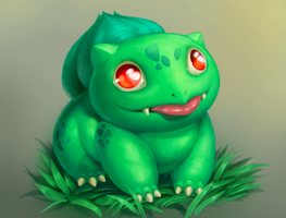 Special bulbasaur by iguancheg