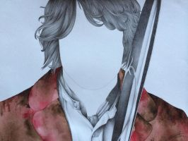 Bilbo: Faceless portrait by EriMed