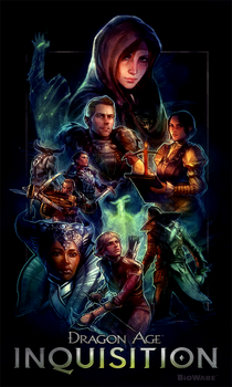 Dragon Age Poster Contest by MartaLaz