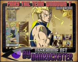 Laxus Dreyar Theme Windows 7 by Danrockster