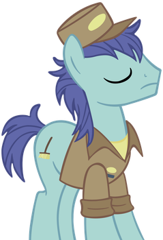 Janitor Pony Vector by cool77778