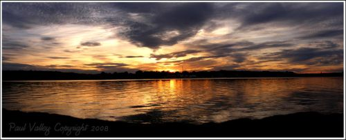 Dighton Sunset II by PyroPaul