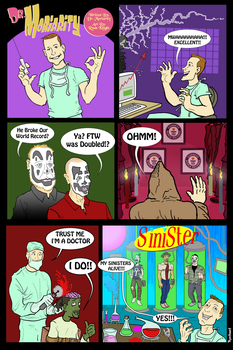 Dr Moriarity's Comic by RyanKnightArt
