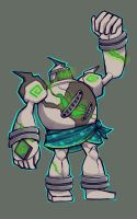 Malachite the Golurk