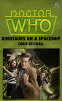 New Series Target Covers: Dinosaurs on a Spaceship by ChristaMactire