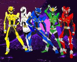 My Dino-Infulenced Kyoryuger by LavenderRanger