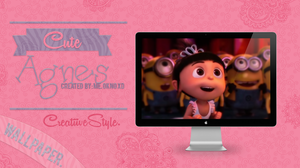 Cute Agnes Wallpaper. by CreatiiveStyle