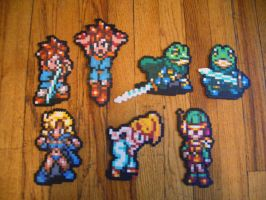 Chrono Trigger GroupBeadSprite by SerenaAzureth
