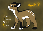 Ammit Submission Sheet (EVOLOONS) by CoffeeAddictedDragon