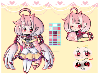 [CLOSED] Adoptable Cute Oni! by IkkiIirie01