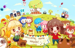 Animal Crossing New Leaf! by Tsubaki-Akia