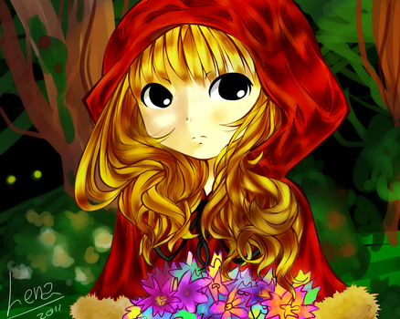 Little red riding hood by akake