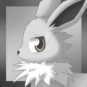 Commission - Jolteon character icon by DreamyNormy
