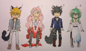 Traditional Adopts Auction! SB 1 point [Closed] by Tetchy-kun