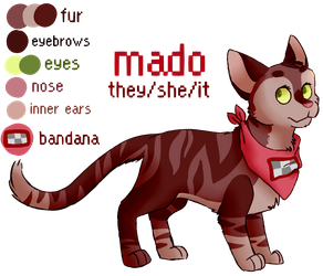 simple mado ref sheet by theirself