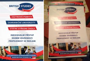 BRITISH STUDIES - Letak A5 predek / Flyer A5 front by Ingnition