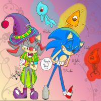 .:Circus:. Sonic Colors by LadyHachi