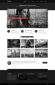Charmed - Multipurpose PSD Theme by pixel-industry