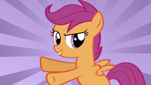 Scootaloo - Tightrope Walker by AtomicGreymon