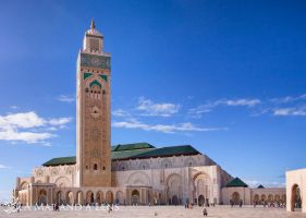King Hassan Mosque II by Mgsblade