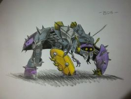 Bob the Insecticon - colored by VamPI11