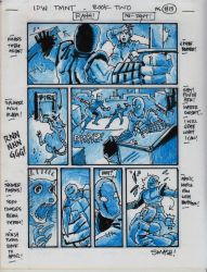 IDW TMNT Book Two Pg 13 by Kevineastman