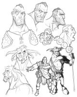 Early Character Study by voya