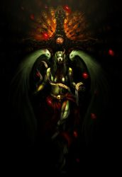 zombie angel by unded
