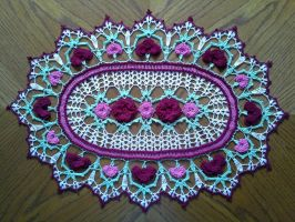 Rose Parade Doily 2 by koepr5333