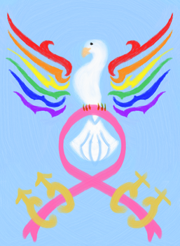 LGBT Dove by Feare909