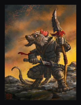 Adigan the Rat by VegasMike