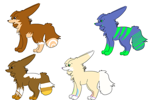 More Designs for Sapphii by Schuffles
