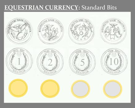 Equestrian Currency: Standard Bits by Earthsong9405