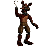 Unwithered Foxy by EndyArts