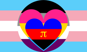 Trans Asexual Panromantic Polyamory Combo by Pride-Flags
