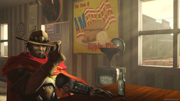 McCree's choice by Father76