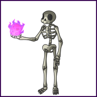 SKeleton - Simple Concept Art by Draggaco