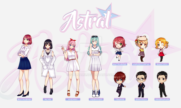 White by Astral by Azelilia