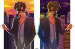Day/Night by beauhello